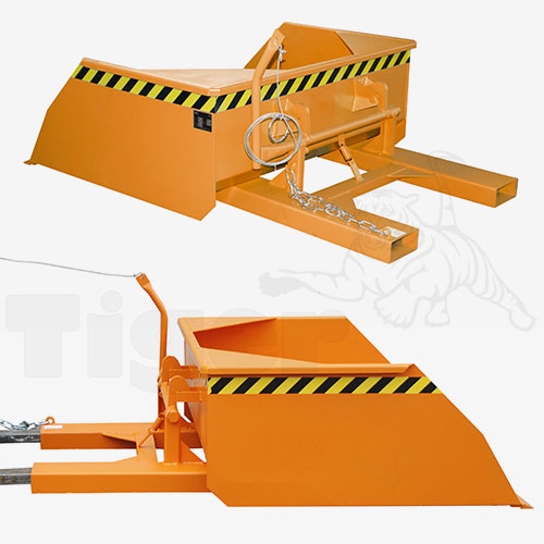 Stapler-Schaufel BSE-75 orange lackiert